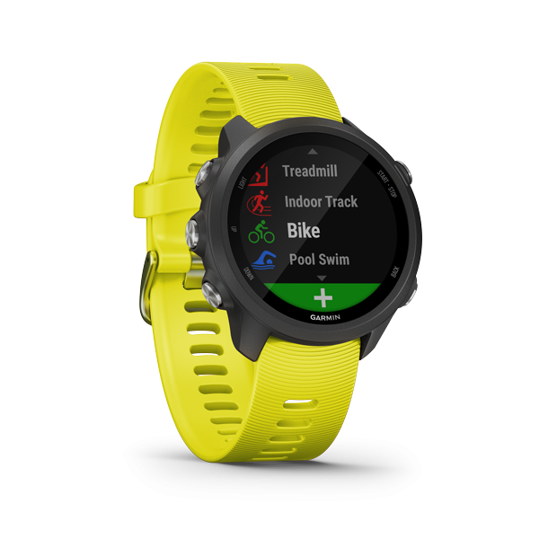 Garmin Forerunner 245 Amp Yellow