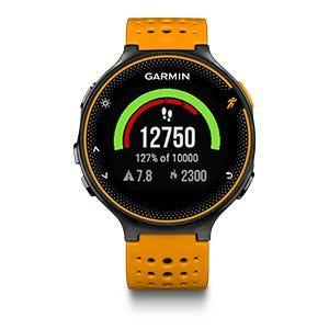 Garmin Forerunner 235 2019 GPS, Solar Flare / Black
