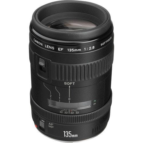 Canon EF135mm f/2.8 (with Softfocus)