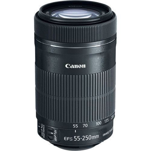 Canon EF-S55-250mm f/4-5.6 IS STM