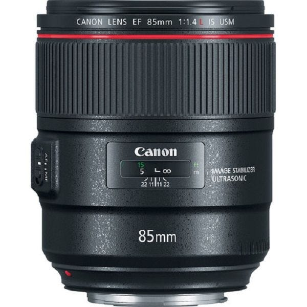 Canon EF85mm f/1.4L IS USM