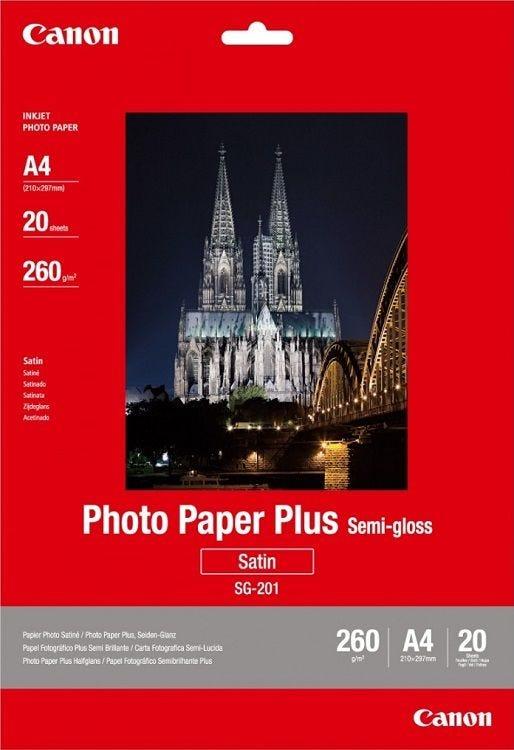 Canon SG-201 A4 Semi Glossy Photo Paper (20 sheets)