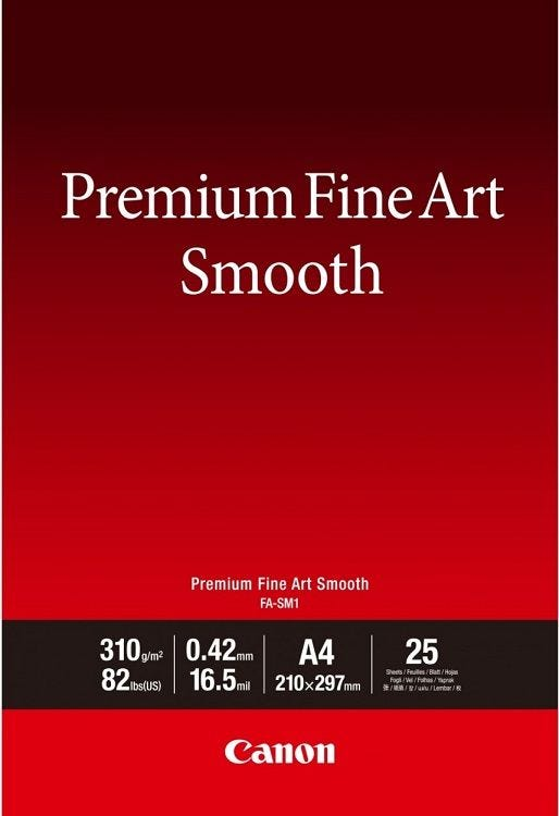 Canon Premium Fine Art Smooth FA-SM1 A4 (25 sheets)