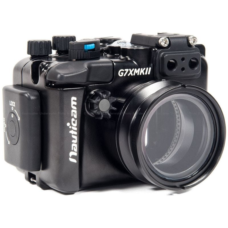 Nauticam Underwater Digital Compact Housing for CANON PowerShot G7X Mark II
