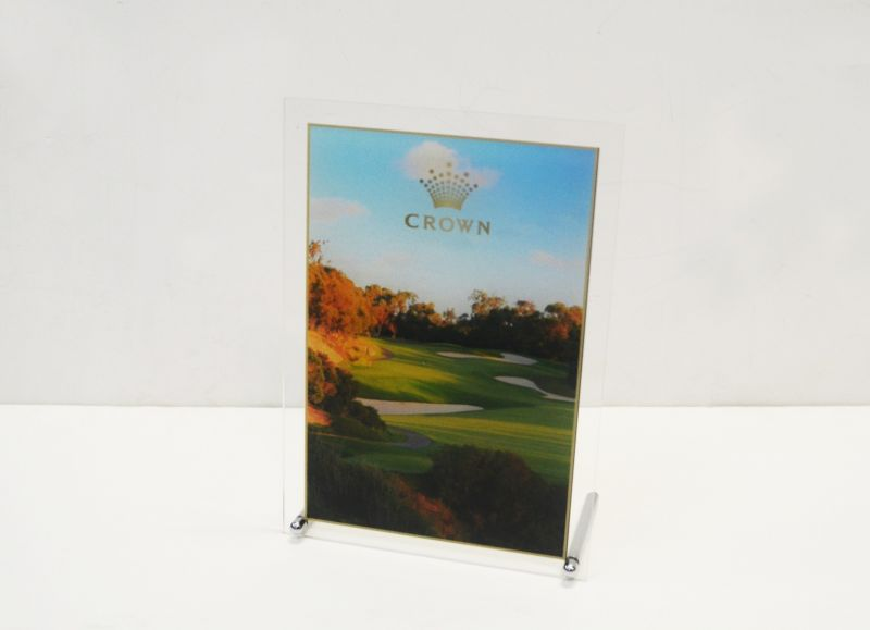White/Clear Acrylic Plaque