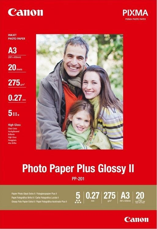 Canon PP-201 A3 Photo Paper Plus Glossy (20 sheets)