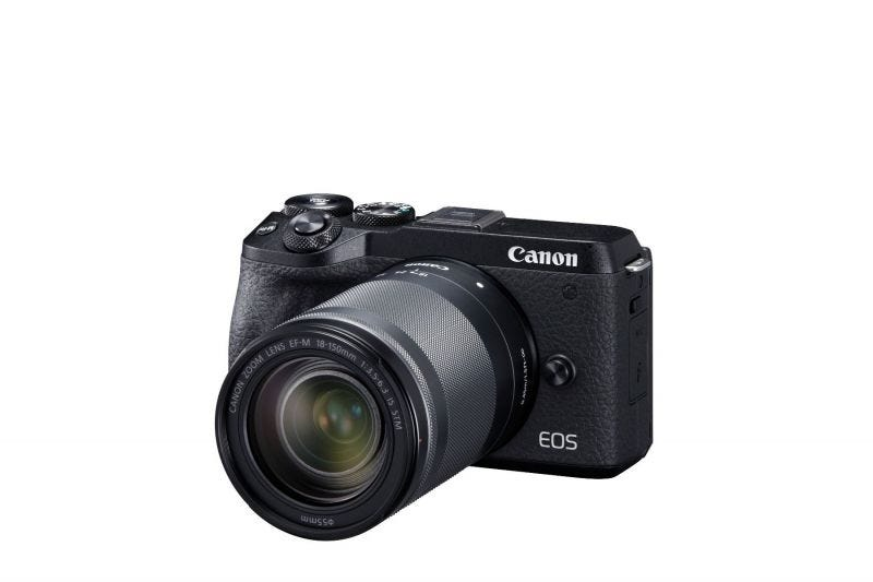 EOS M6 MARK II KIT EFM 18-150 BUNDLE (BLACK)