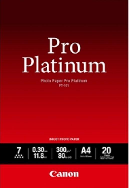 Canon PT-101 A4 Photo Paper Pro Platinum (20 sheets)