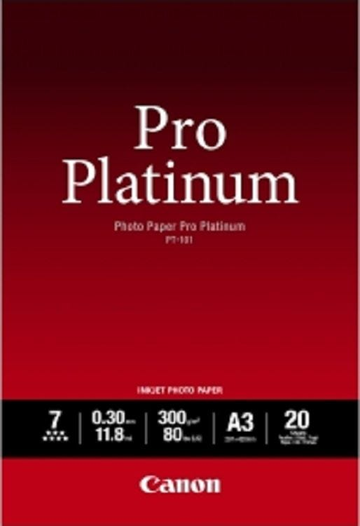 Canon PT-101 A3 Photo Paper Pro Platinum (20 sheets)
