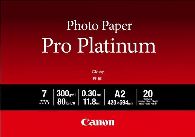 Canon PT-101 A2 Photo Paper Pro Platinum