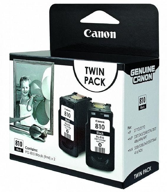 Canon PG-810 Twin Pack - Black