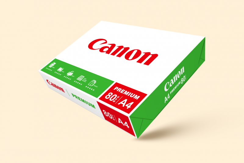A4 80gsm Canon Premium Paper (Bundle of 5)