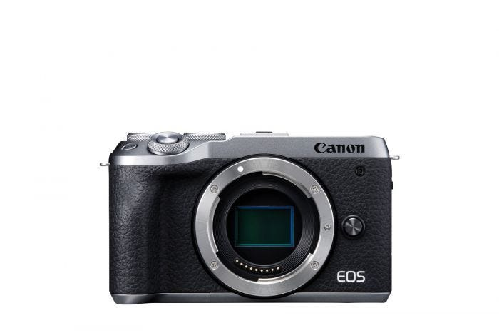 EOS M6 MARK II BODY BUNDLE (SILVER)