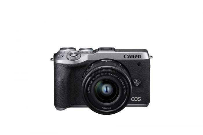 EOS M6 MARK II KIT EFM 15-45 BUNDLE (SILVER)