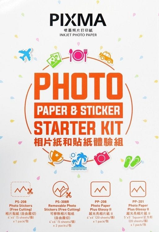 Canon Photo Paper Starter Kit