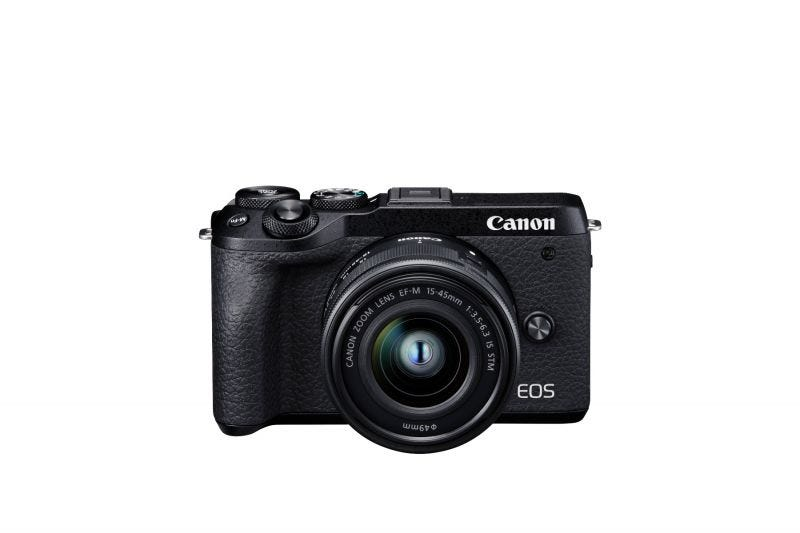 Canon EOS M6 Mark II Kit (EF-M15-45mm f/3.5-6.3 IS STM)