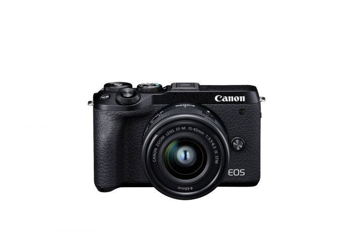 EOS M6 MARK II KIT EFM 15-45 BUNDLE (BLACK)