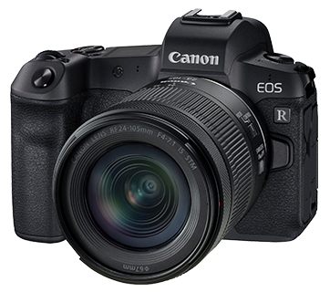 Canon EOS R KIT w/RF24-105MM F/4-7.1 IS STM