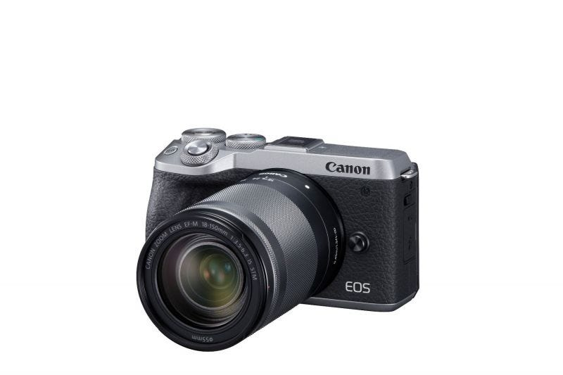 EOS M6 MARK II KIT EFM 18-150 BUNDLE (SILVER)