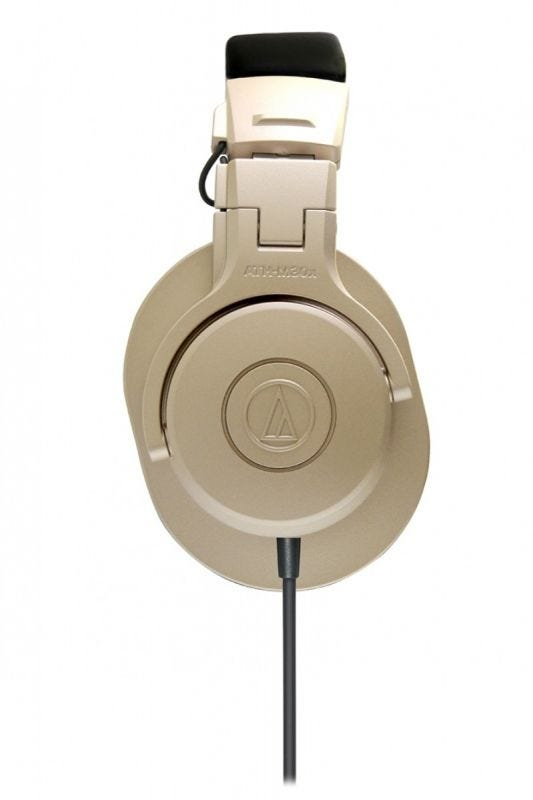 Audio-Technica ATH-M30x Champagne Gold Professional Monitor Headphones