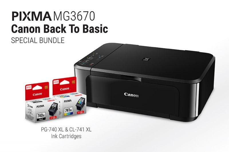 Canon Back to Basic - PIXMA MG3670 (Black)