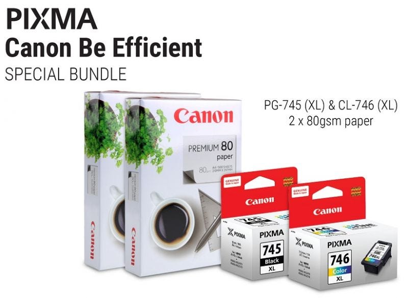 Canon Be Efficient