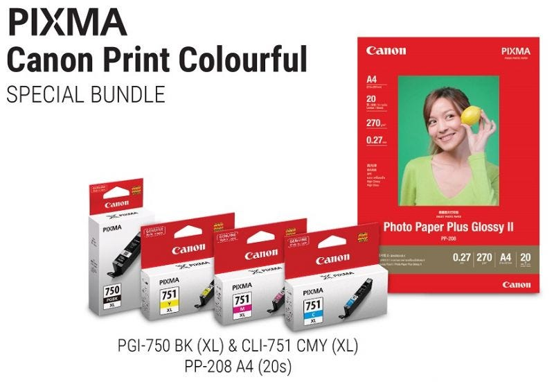 Canon Print Colourful