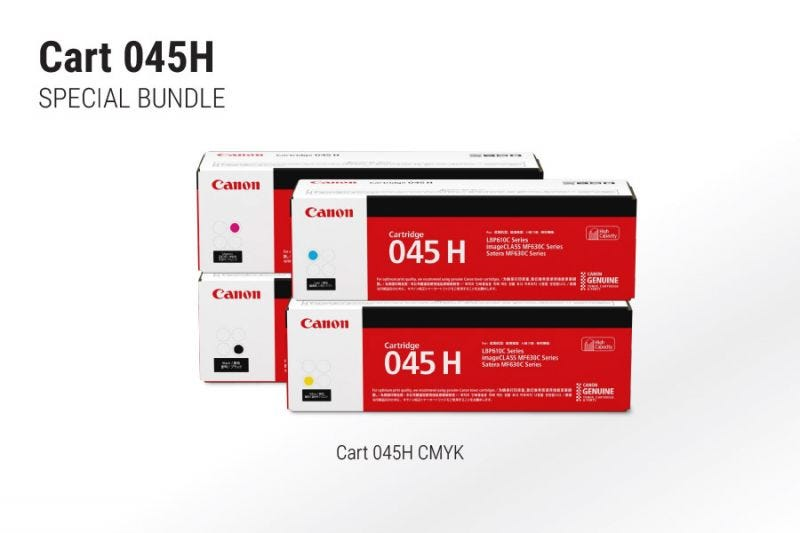 Canon Cart 045H Bundle