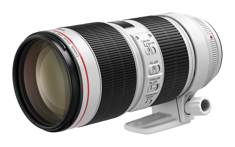 Canon EF70-200mm f/4L IS II USM