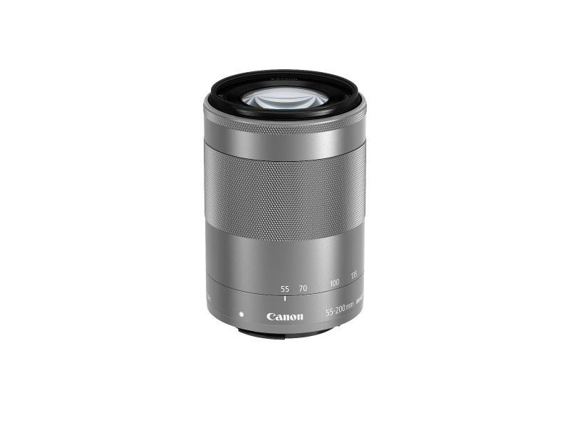 Canon EF-M55-200mm f/4.5-6.3 IS STM (Silver) LENS