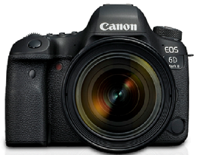Canon EOS 6D Mark II Kit (EF 24-70mm f/4L IS USM)