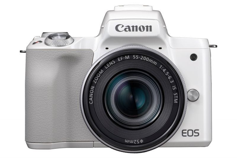 Canon EOS M50 Kit (EF-M15-45 IS STM & EF-M55-200 IS STM)