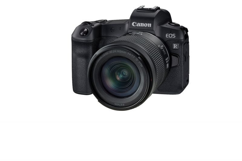 Canon mirrorless camera EOS R KIT