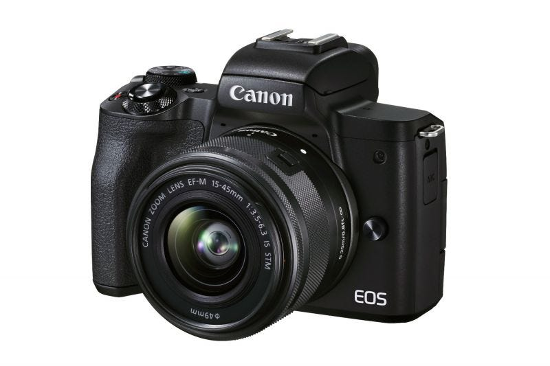 Canon EOS M50 Mark II (EF-M15-45mm f/3.5-6.3 IS STM)