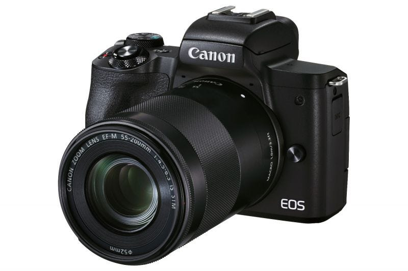 Canon EOS M50 Mark II (EF-M15-45mm f/3.5-6.3 IS STM & EF-M55-200mm f/4.5-6.3 IS STM)