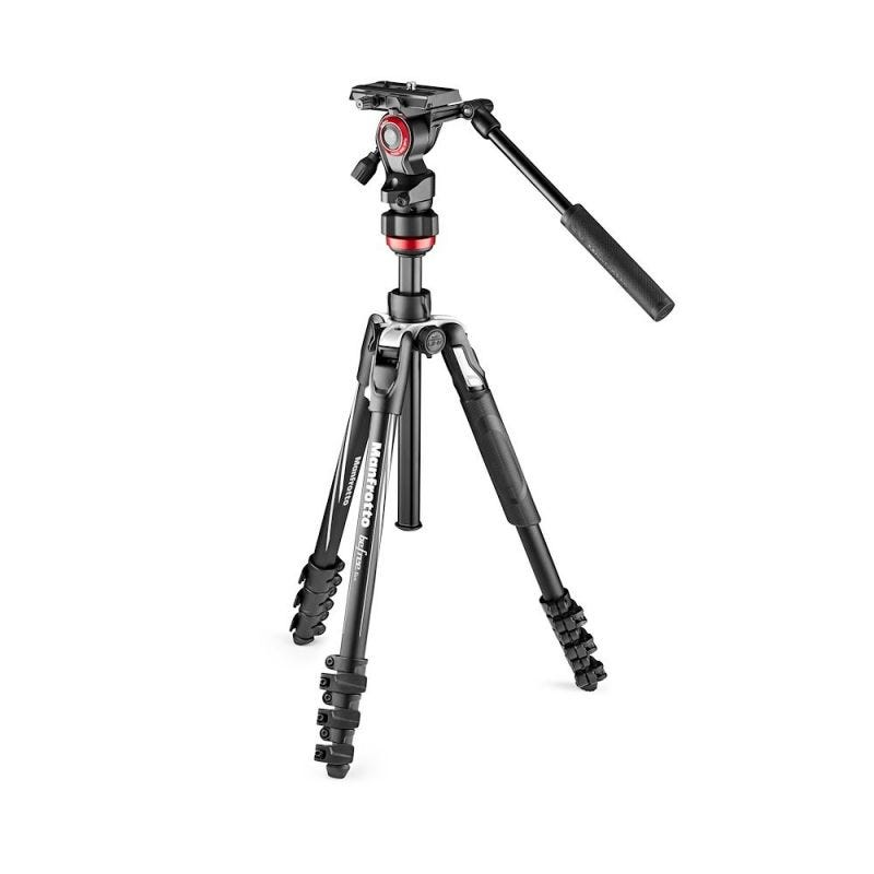 Manfrotto Befree Live Aluminium Lever Video Head Tripod