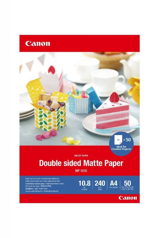 Canon MP-101D A4 (50)-Double Sided Matte Paper