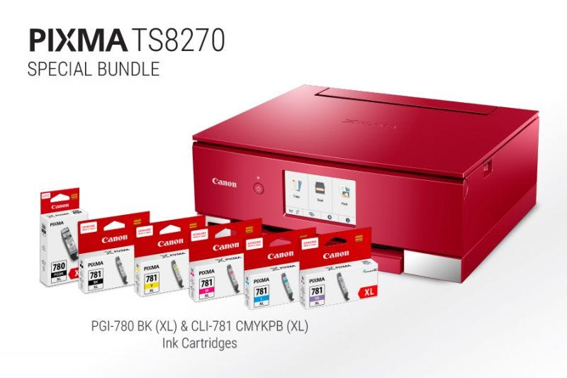 Canon Hue (Red)