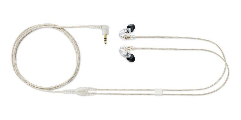Shure SE215 SOUND ISOLATING EARPHONES - Single MicroDriver Earphone, Clear