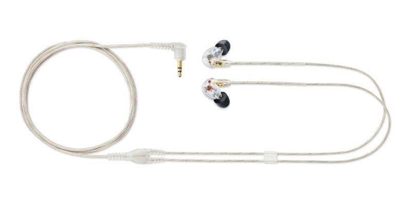 Shure SE425 SOUND ISOLATING™ EARPHONES - Dual MicroDrivers Earphone, Clear