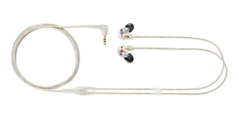 Shure SE535 SOUND ISOLATING™ EARPHONES - Triple MicroDrivers Earphones Limited Edition (Japanese Version) Clear