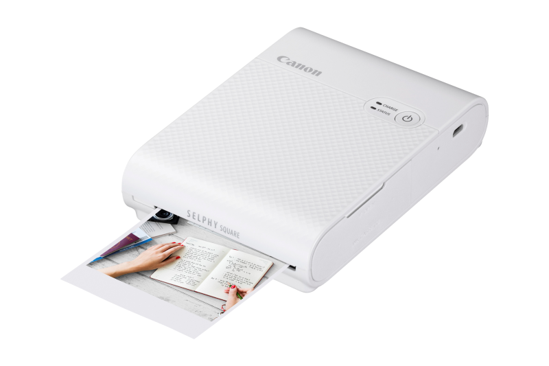 SELPHY SQUARE QX10 + XS20L SELPHY SQUARE PAPER (WHITE)