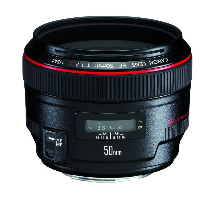 Canon EF50mm f/1.2L USM