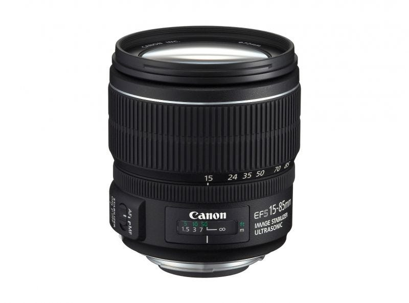 Canon EF-S15-85mm f/3.5-5.6 IS USM