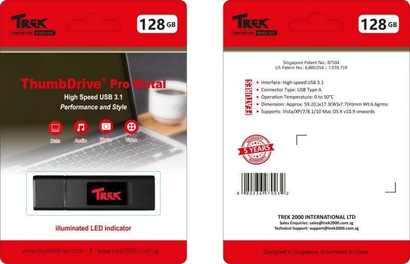ThumbDrive Pro Metal 128GB