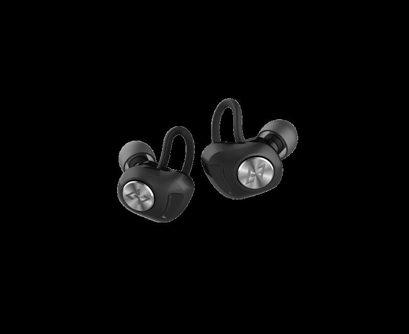 Aviot True Wireless Earbuds - Black