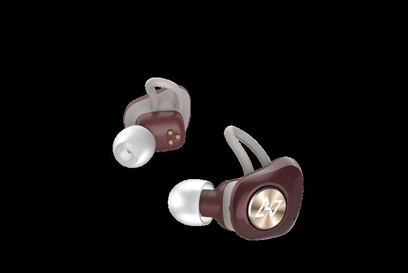 Aviot True Wireless Earbuds - Dark Red