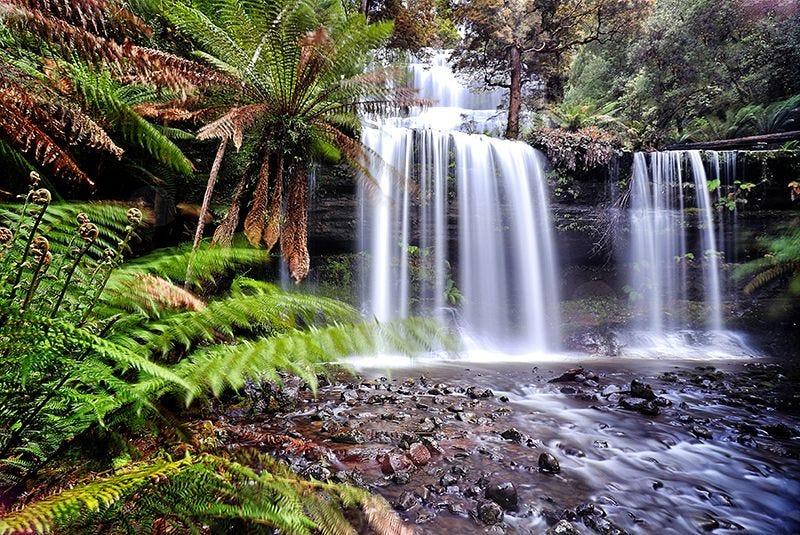 Tasmania Travel Landscape on Premium Canvas Print (Travel Landscape_01)