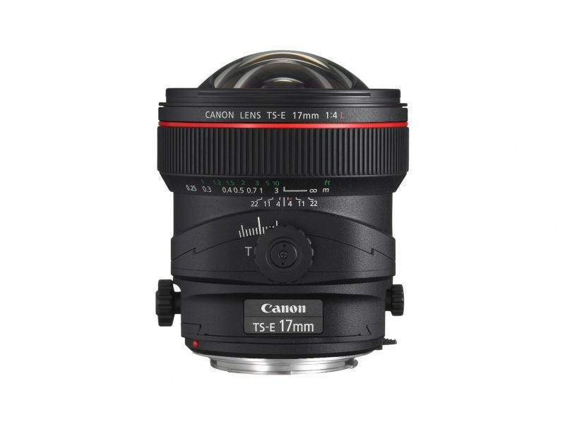 Canon TS-E17mm f/4L