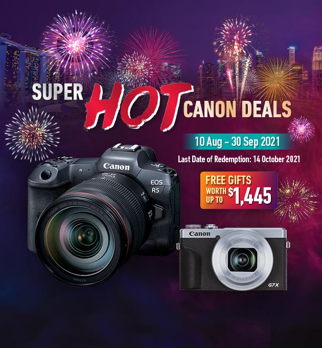 EOS R5 and EOS R6 cameras Canon Singapore